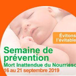 Semaine de prévention de la mort subite du nourrisson
