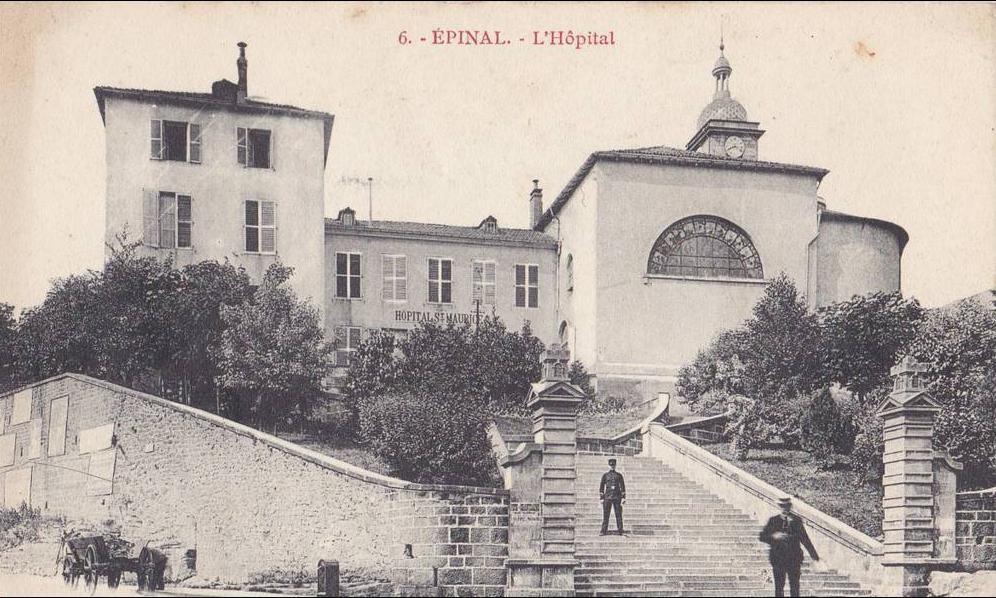 Epinal, Hôpital Saint Maurice.